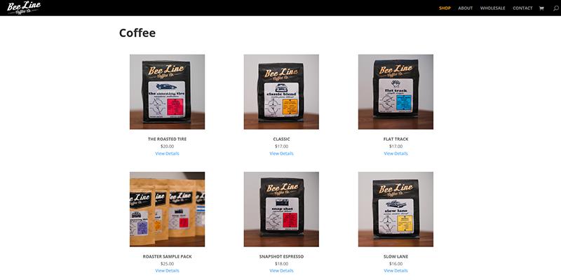 Bee Line Site - Shop
